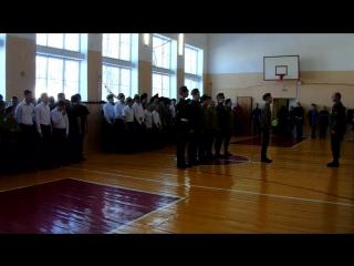 Праздничное дефеле Зарница - во славу Отечества -2017