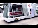 В Китае появился беспилотный круглосуточный мини маркет на колёсах