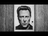 Portrair Christopher Walken  Speed drawing by Tetti Do