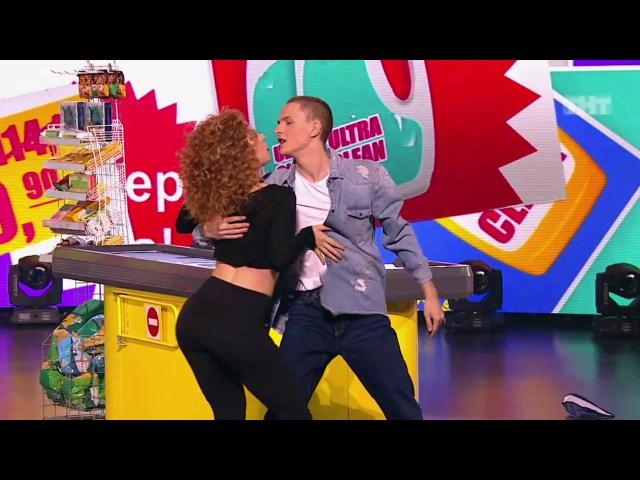 Танцы: Илья Прелин и Лада Касинец (Bruno Mars - That's What I Like) (сезон 4, серия 17)