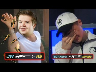 JUST JW THINGS, S1MPLE REKT BY BOT, FALLEN WINS TACO'S GIVEAWAY MORE! - CS:GO TWITCH CLIPS 12