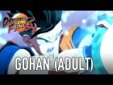 Dragon Ball FighterZ - PS4/XB1/PC - Gohan Adult (Character Intro Video)