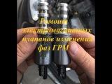 ГРМ Пежо 308 Двигатель EP6 Снятие, ремонт электромагнитных клапанов изменения фаз...