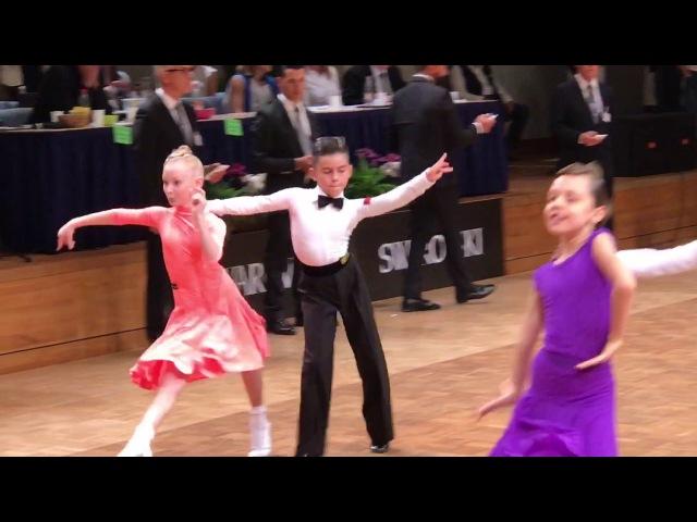 Maxim Tereshin Uliana Zelikovskaya RUSSIA Juveniles 2 GOC 2017
