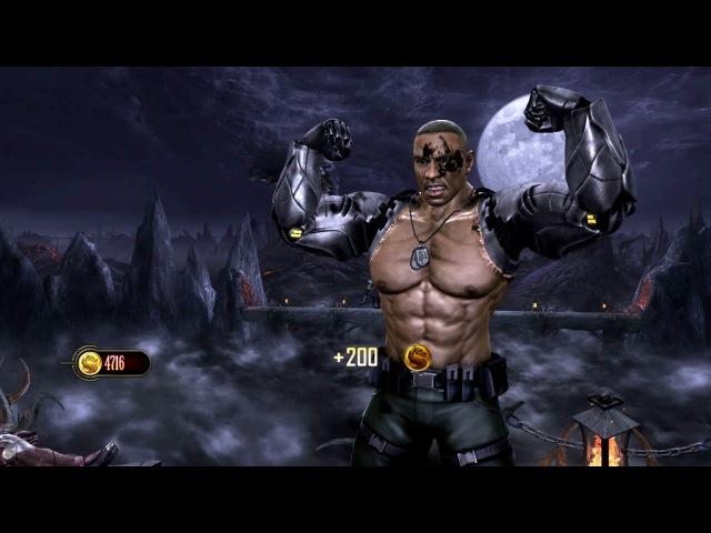 Mortal Kombat Komplete Edition - Test Your Luck - Jax [2K-60fps]