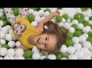 Indoor Playground Fun for Kids and Family Play Slide Rainbow Colors Balls
