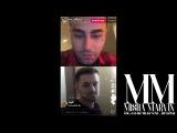 Миша Марвин и Kan - Прямая трансляция Instagram. (LIVE - 17.11.2017) vk.com/marvin_misha