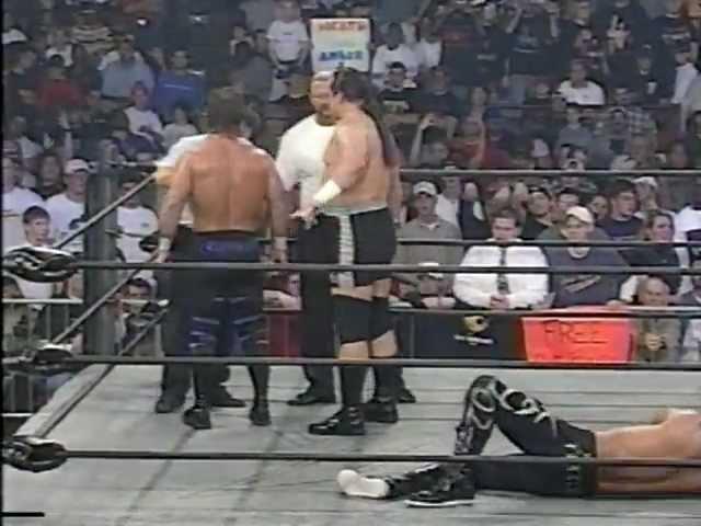 Steve 'Mongo' McMichael Chris Benoit vs. Raven Kanyon 12/03/98