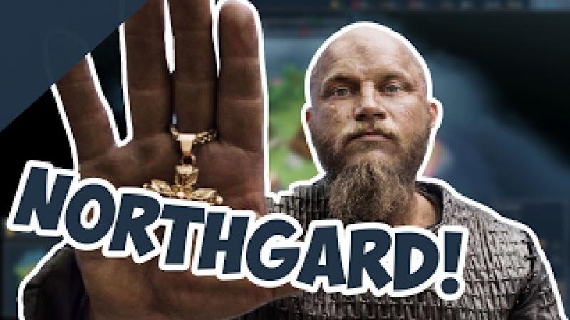 НОВАЯ Стратегия про ВИКИНГОВ Northgard!