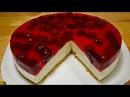 Торт Без Выпечки Сметанный Мусс с Вишней Очень простой!