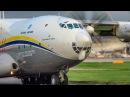 Worlds Biggest Turboprop at Manchester | Antonov An-22 | 1st December 2017