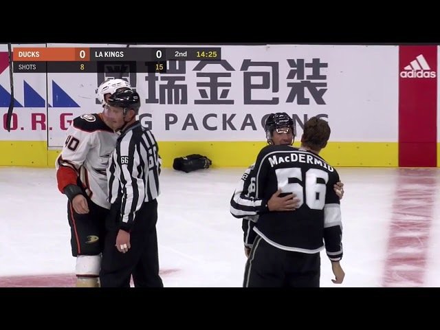 Jared Boll vs Kurtis MacDermid Sep 30, 2017 (Preseason)