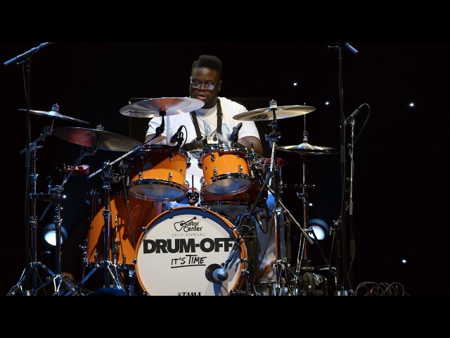 Kwesi Robinson Guitar Center's 28th Annual Drum Off Finalist