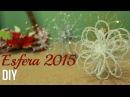 La mejor Esfera navideña DIY ¡Muy Fácil Navidad 2015
