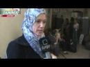 Беженцы из захваченных боевиками районов Хомса 2012