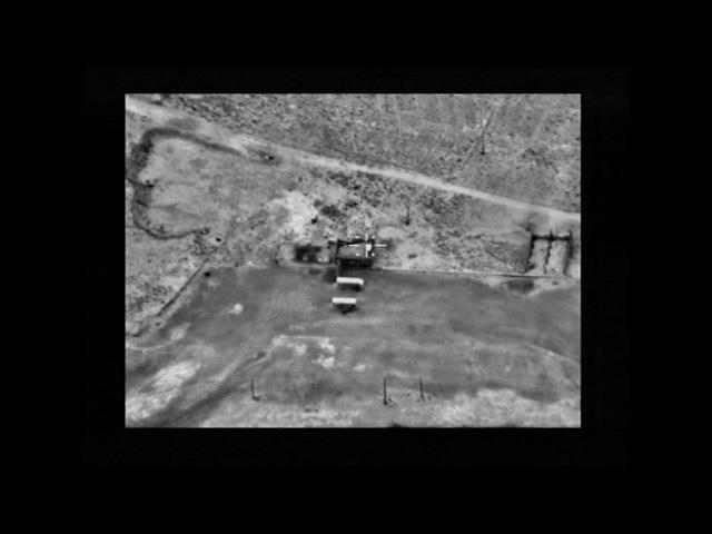 Ночной кошмар ИГИЛ: ВКС РФ сжигают объекты боевиков в пустыне Ракки — кадры БПЛА