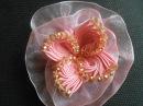 Бант,фантазийный цветок МК DIY. Bow, flower fantasy 20