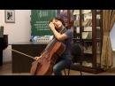 Nonna Natsvlishvili's master class (cello). 2/2