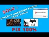 How to fix Unknown error 0x887A0004 TelltaleGamesProblem