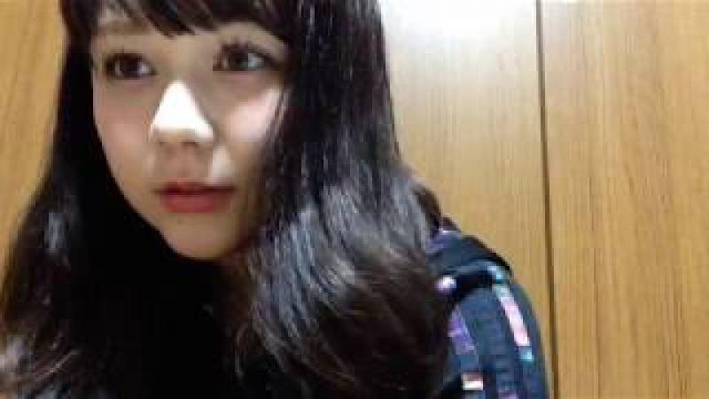 村重杏奈(HKT48 チームKIV) 2017年06月14日 あーにゃ SHOWROOM 22:45