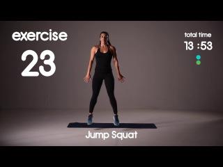 Group HIIT - Inner Thigh and Glute Workout | ВИИТ-тренировка для ягодиц и внутренней части бедра (гантели)