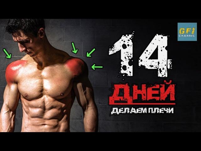 Большие широкие плечи за 14 ДНЕЙ (с 1 ГАНТЕЛЬЮ!)