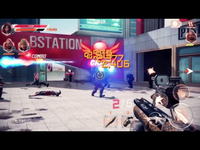 Alliance of Valiant Arms Guns On Fire KR Debut game trailer