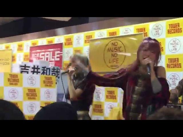 2015/10/12 『note』/おやすみホログラム@タワーレコード新宿インストア ライブ