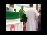 Roman Catholic Priest Beats &amp Abuses Children Mid Service
