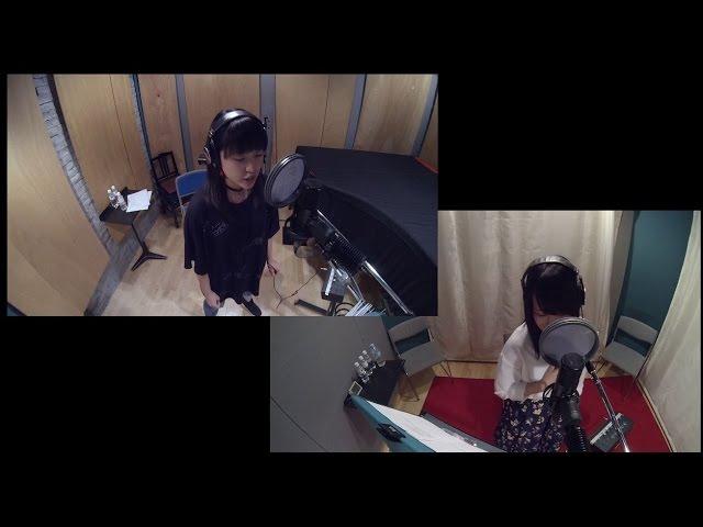 Mikumo Freyja sings Bokura no Senjō at Studio