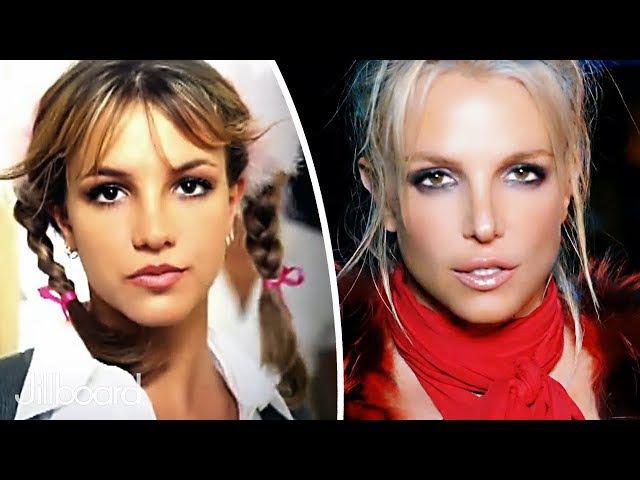 Britney Spears - Music Evolution (1998 - 2016)