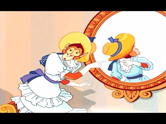 Зеркало И Обезьяна - Басни Крылова Для Детей На Ночь ♦ сказка