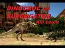 Dinocroc vs Supergator - Kill Count