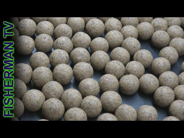 Уловистые бойлы. Хлебные пылики своими руками (Видео 4К)