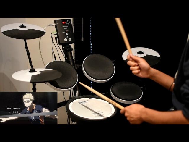 Haikyuu!! Season 3 OP -【Hikari Are (ヒカリアレ)】by BURNOUT SYNDROMES - Drum Cover