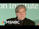 Steve Bannon Makes 'Inexplicable' Claims About President Donald Trump| Morning Joe | MSNBC