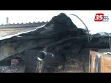 Вологодский полицейский вынес мужчину из горящего гаража