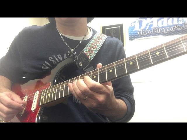 More RB guitar lesson - fills soloing ideas - Tomo Fujita