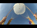 Действия в самолете и воздухе совершая прыжок с парашютом.