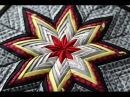 Christmas decorations Делаем простое и красивое украшение из лоскутков