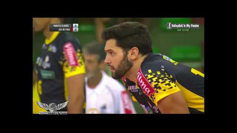 [HD] Montes Claros vs JF Volei | 21-10-2017 | Brazil SuperLiga Men 2017/2018