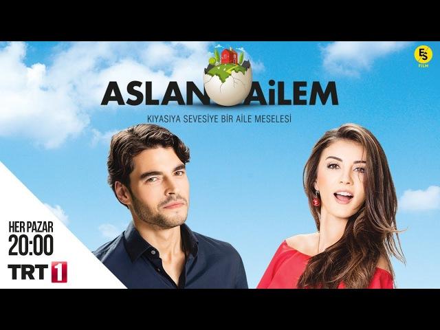 Aslan Ailem Her Pazar TRT1 Ekranlarında!
