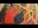 Первый второй пробел на иконе Жены Мироносицы у гроба Господня Одежды