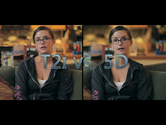 Canon 5D mkII vs The Canon T2i