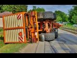 Nehoda Fendt 824 Vario + Romill Mamut  Zetor 16145 tractor crashes accidents