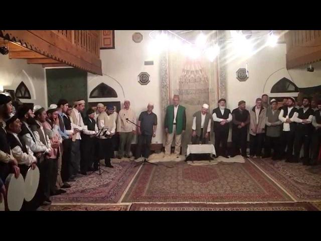 Hacı Sinan Tekkesi Zikir Meclisi Bosna 2014