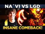 NA`VI vs LGD - INSANE COMEBACK! - MDL MACAU Minor Dota 2