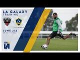 LA Galaxy hit the training field in D.C.  LATEST