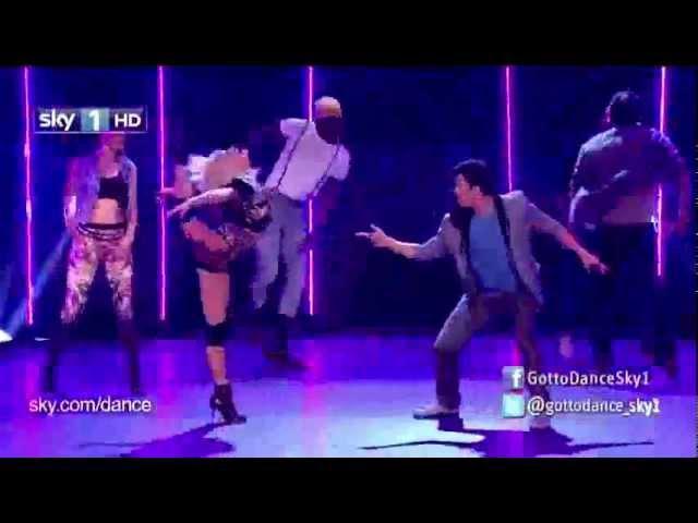 Kimberly Wyatt - We Found Love Feat. Adam Garcia (Live on Got To Dance 2012)