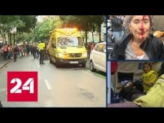 Бьют всех подряд: каталонцы рассказали, как действует полиция на референдуме - Р ...